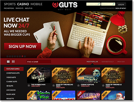Guts Casino Review – Is Guts a Safe Site or a Scam?