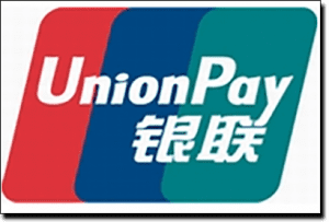 UnionPay deposit option