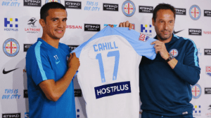 Cahill in A-League