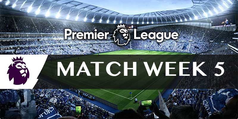 Free tips & bookie bonuses for the Round 5 EPL multi of the week