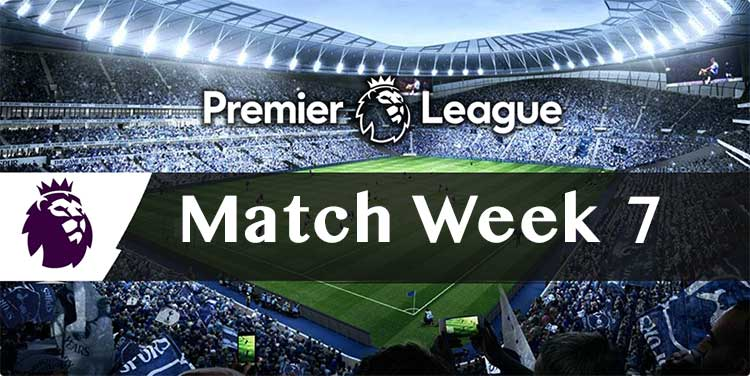 Free multi tips and bookie bonuses for the Week 7 EPL parlay