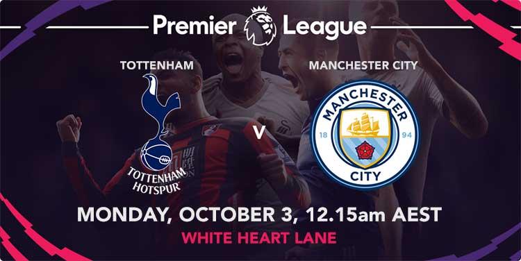 Aguero goal scoring odds & tips for Manchester City vs. Tottenham