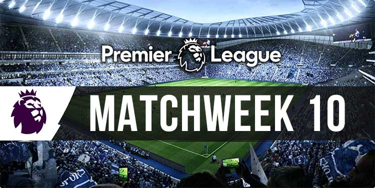 English Premier League Week 10 multi tips and bookmaker specials