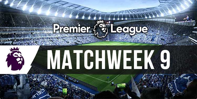EPL parlay betting tips, bookie bonuses for match week 9