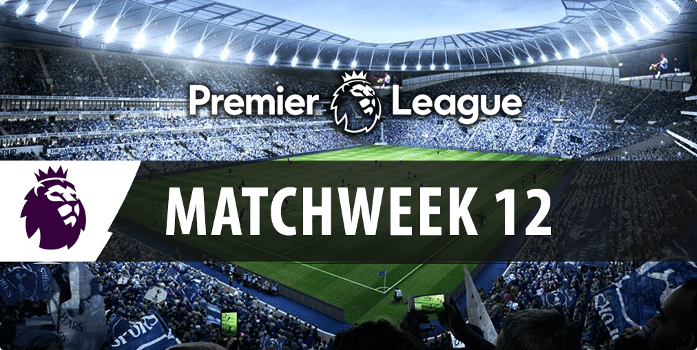 English Premier League multi tips for match week 12 betting